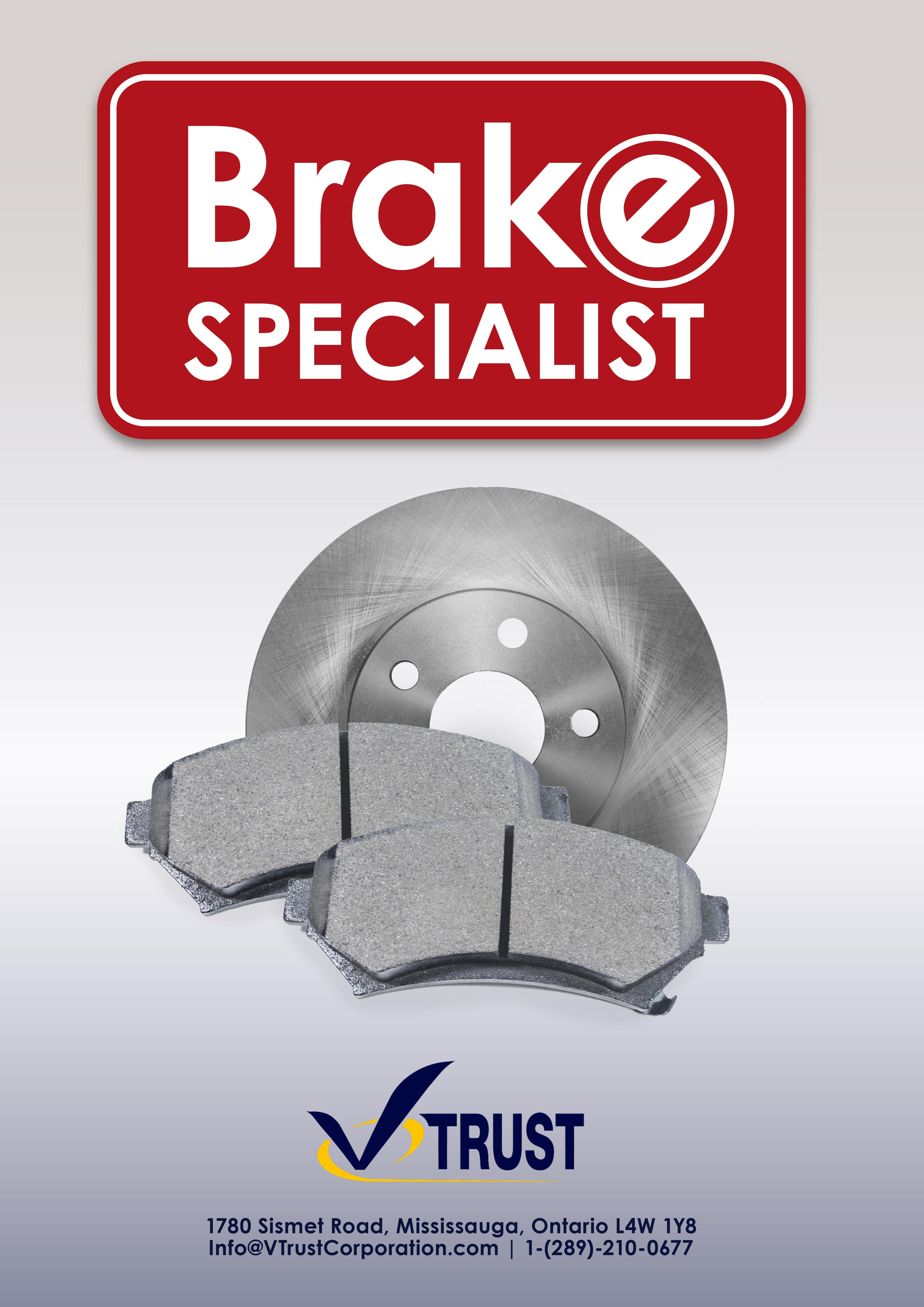 V-Trust Premuim Quality Ceramic Brake Pads FRONT VTD787